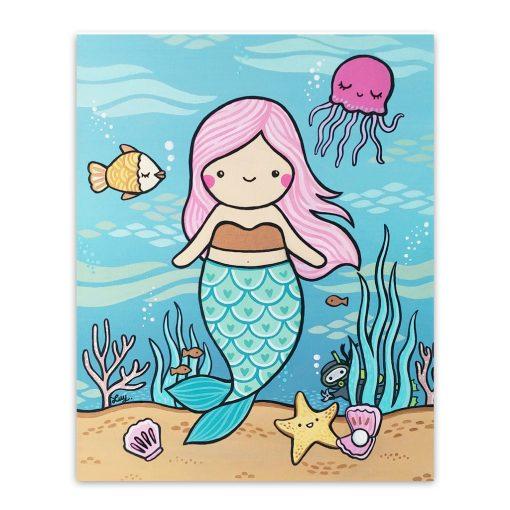 mermaid_art_print